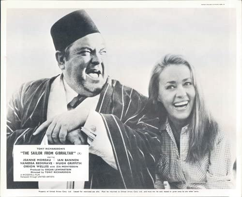 The sailor from Gibraltar Jeanne Moreau movie poster print