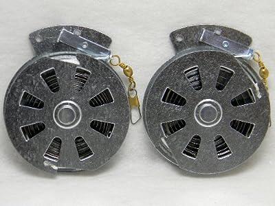 2 Mechanical Fishers Yo Yo Fishing Reels -package Of 2 Yoyos- Yoyo Fish Trap by Mechanical Fisher