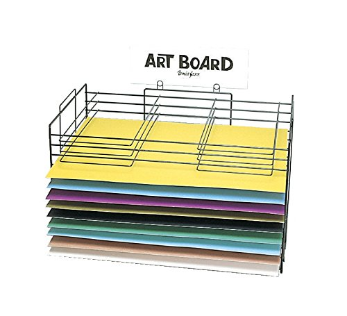Display Poster Rack Board - Pacon 75004 Board Storage and Drying Rack, 22