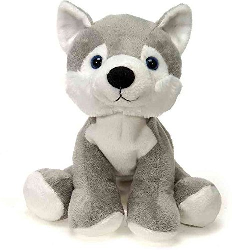 "Fiesta Toys Lil Buddies Bean Bag Animal Plush-9"" Husky"