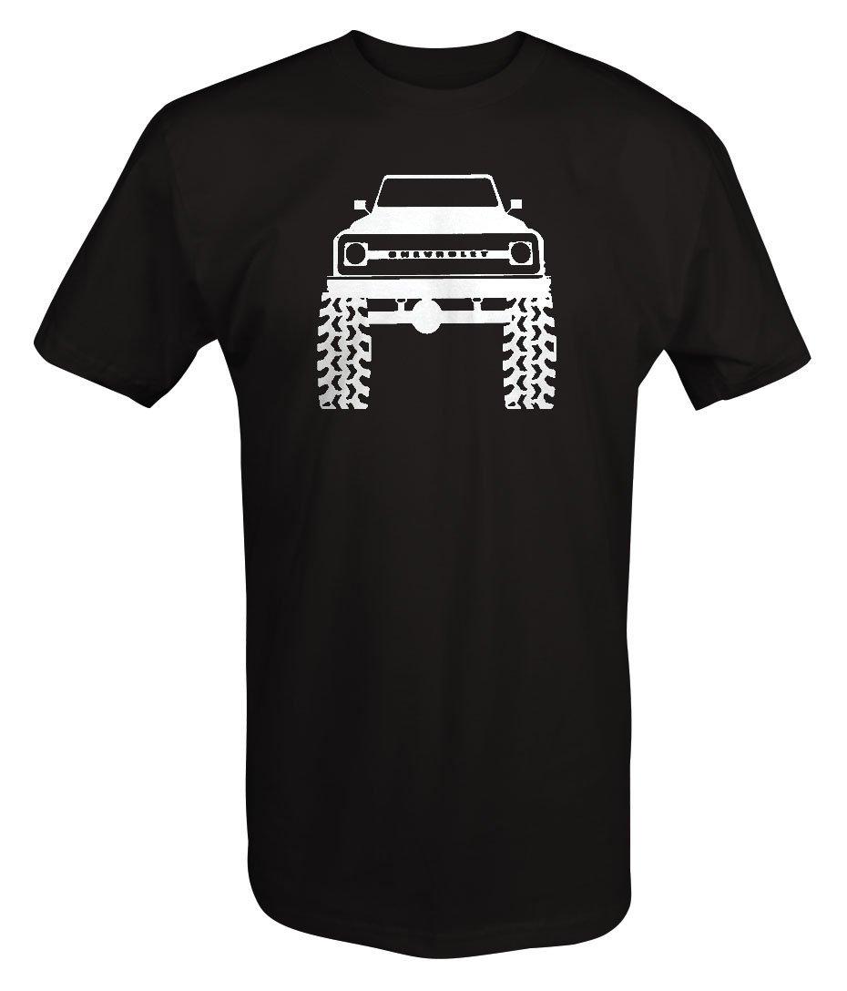 67-72 Chevy Full Size Blazer Lifted Mud Tires Truck T shirt - 5XL