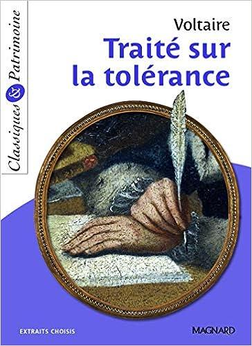 Amazon.fr - Traité sur la tolérance - Classiques et Patrimoine - VOLTAIRE -  Livres