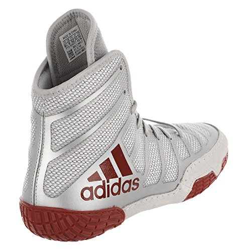 Performance Adizero Wrestling Shoes Red Silver Red Wrestling Men's XIV adidas FwSTT