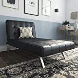 DHP Emily Sectional Futon Sofa with Convertible