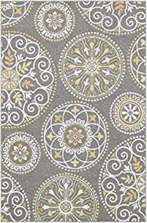 """product image for Shaw Boutique Collection 5' 3"""" x 7' 10"""" Area Rug - Idlewood Grey"""