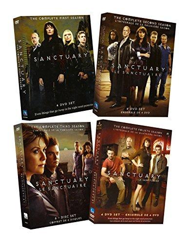 Sanctuary Complete Series (Seasons 1-4) (Alphas Complete Series)
