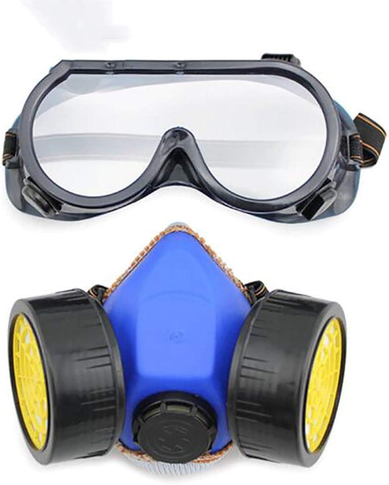 RJY Respiradores con Filtro Protector, Reutilizable, Adecuado para Minería, Obras De Construcción Y Otros Trabajos De Protección, Resistente A Impactos