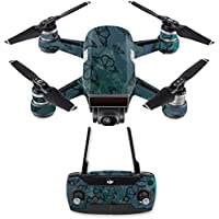 Skin for DJI Spark Mini Drone Combo - Dark Butterfly| MightySkins Protective, Durable, and Unique Vinyl Decal wrap cover | Easy To Apply, Remove, and Change Styles | Made in the USA
