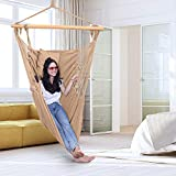 ONCLOUD XXL Large Hanging Rope Hammock Chair