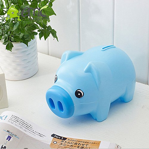 Blue Piggy Bank Children Gift - Order Tracking Usps Money Number