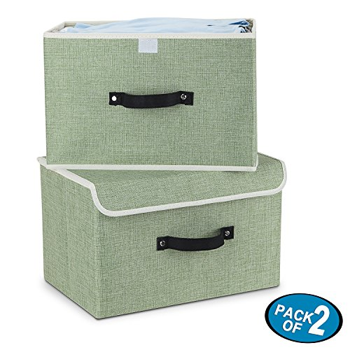 Foldable Containers Organizer Removable Dividers