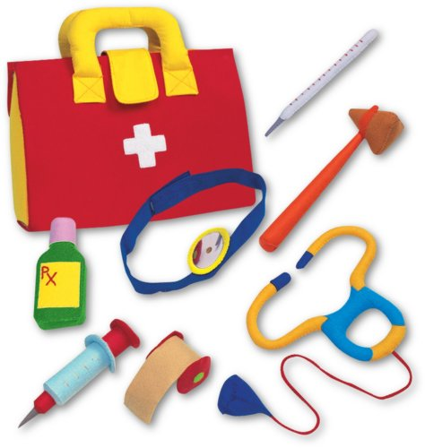 Play Doctor Kit - Fabric Role Play Set by Buzz