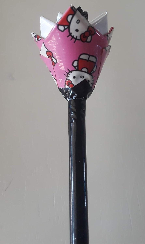 Hello Kitty Duct Tape Flower Pen