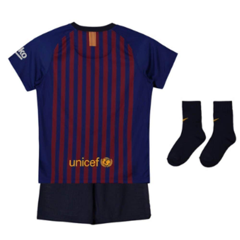 6657ccad1 Amazon.com   NIKE FC Barcelona Breathe Home Baby Kit   Sports   Outdoors