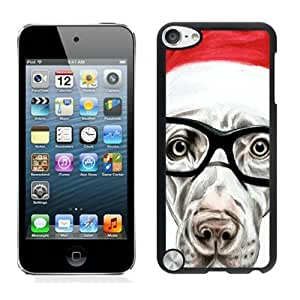 2014 New Style Glasses Christmas Dog iPod Touch 5 Case 4Black iPod Touch 5 Case 3