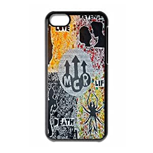 Popular Music Band My Chemical Romance Pattern Productive Back Phone Case For Iphone 5c -Style-5
