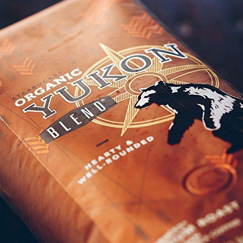 Starbucks Organic Yukon Blend 1 Pound Bag of Medium Roast Whole Bean Coffee
