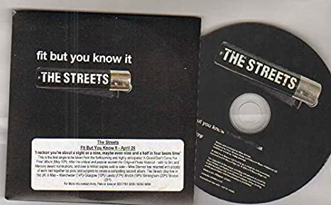 a7947cd931d62 STREETS - STREETS - FIT BUT YOU DON T KNOW IT - CD (not vinyl ...