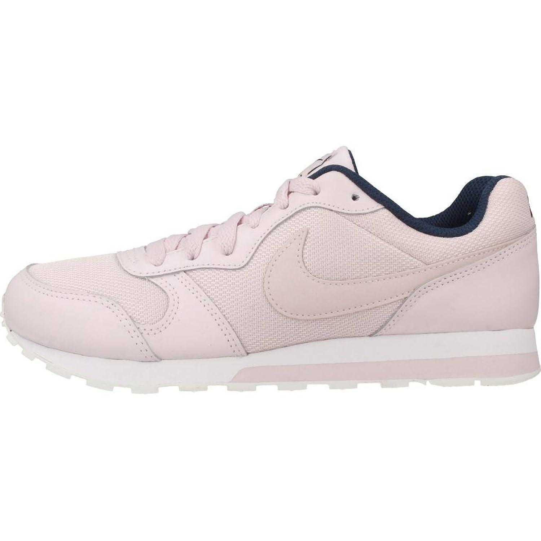 Nike Tanjun (GS), Zapatillas de Gimnasia para Niñas, Rosa (Barely Rose/Navy/White 600), 38.5 EU