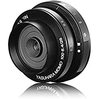 Yasuhara MoMo100 E Soft Focus Pancake Lens 28mm F6.4-F22 for Sony NEX Mirrorless Camera Manual Lens