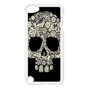 Sugar Skull DIY Case Cover for Ipod Touch 5,Sugar Skull custom case cover