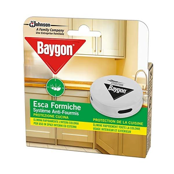 Baygon Esca Insetticida Formiche Pronta all'Uso, Protezione Cucina 30 g - Confezione da 1 Esca per Uso in Spazi Interni… 3 spesavip