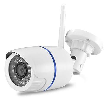 Cámara de Seguridad WiFi Cámara IP Inalámbrica con Cable P2p ...