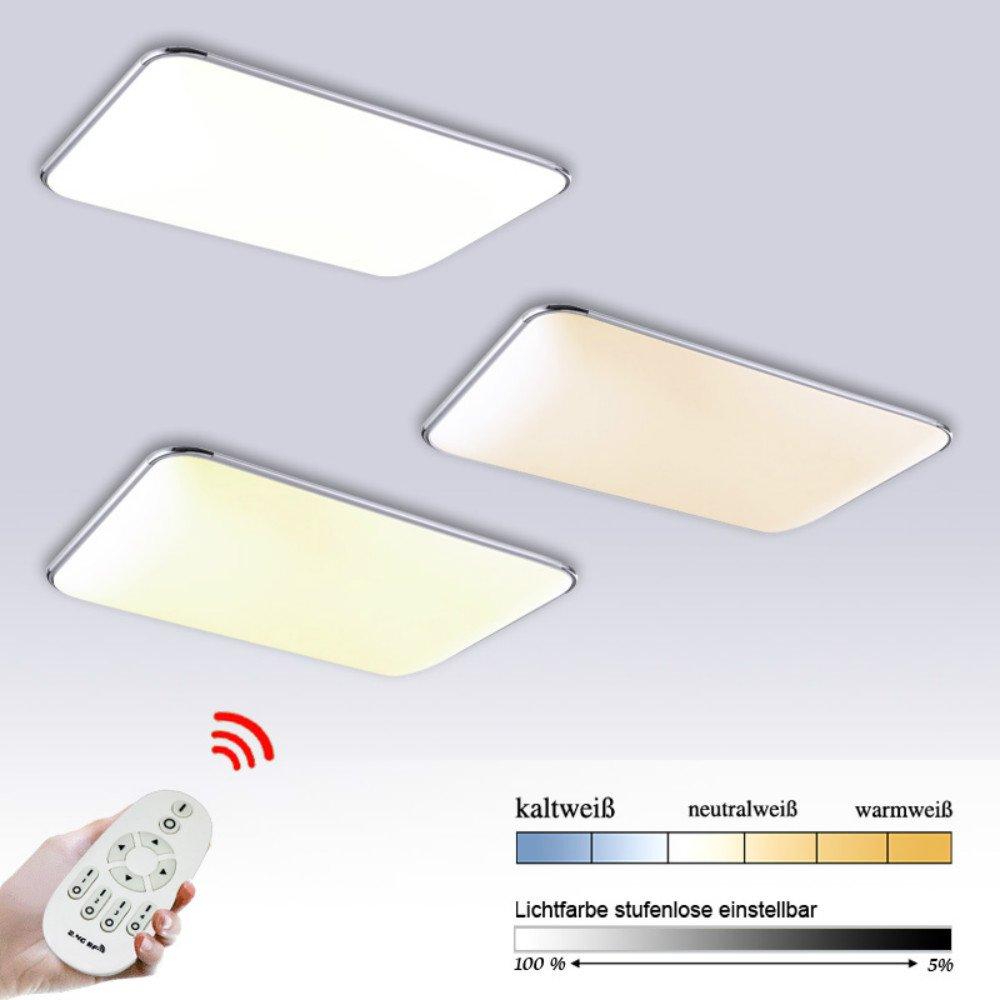 12W/24W/36W/48W LED Deckenleuchte Panel Alu-matt(Dimmbar)