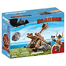 Playmobil How to Train Your Dragon Gobber with Catapult Building Set