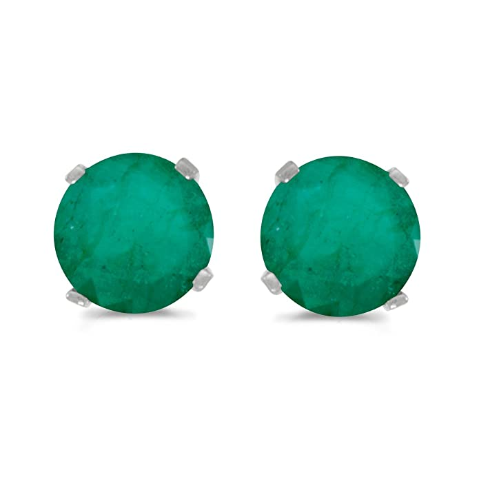 hajibay emerald colombian co earrings view