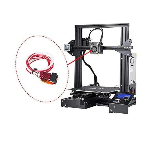 1.75mm MK10 Nozzle Print Head Extruder Hot End Assembled For 3D Printer CR-10