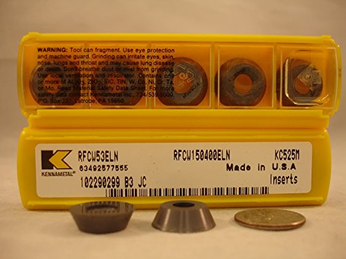 New/&Original Kennametal Rfcw 53 Eln Kc525M Kennametal Carbide Inserts 10Pcs