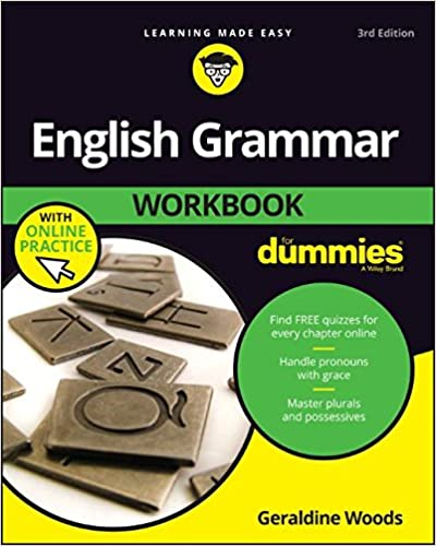 English grammar workbook for dummies with online practice for english grammar workbook for dummies with online practice for dummies language literature 3rd edition fandeluxe Image collections