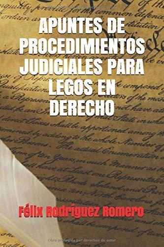 APUNTES DE PROCEDIMIENTOS JUDICIALES PARA LEGOS EN DERECHO (Spanish Edition)