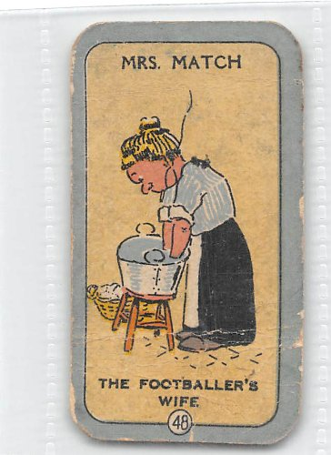 Mrs. Match 1925 Carreras Cigarettes Happy Family #48 (FAIR) creased
