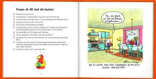 Frauen Ab 40 Sind Die Besten Cartoon Geschenkbuch Zum Runden