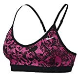 Kyпить Nike Womens Printed Racerback Sports Bra Pink XL на Amazon.com