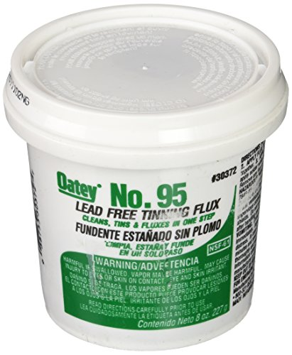 Oatey 30372 No. 95 Tinning Flux, Lead Free 8-Ounce from Oatey