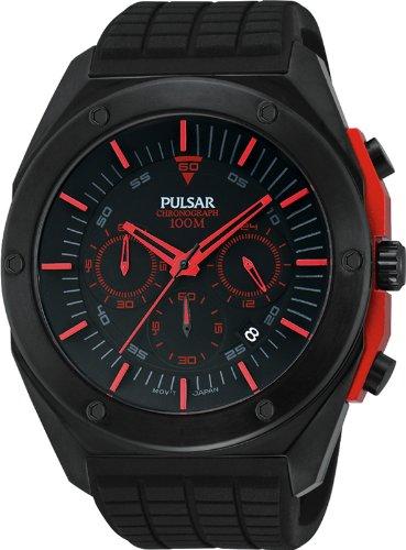 Pulsar PT3463X1 - Reloj de pulsera hombre, color negro: Amazon.es: Relojes