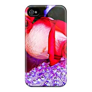 High Impact Dirt/shock Proof Case Cover For Iphone 4/4s (mother S Day Beautiful Flower Beautiful Roses)