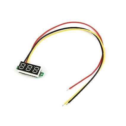 0-100V 0.28in 3 Wire LED Digital Display Panel Voltmeter ... on