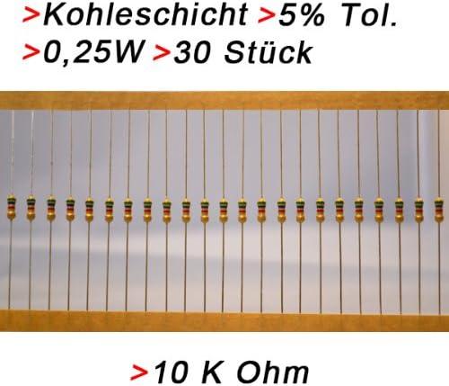 NEU 1/% 4,7kOhm 10 x Metallschicht-Widerstand axial