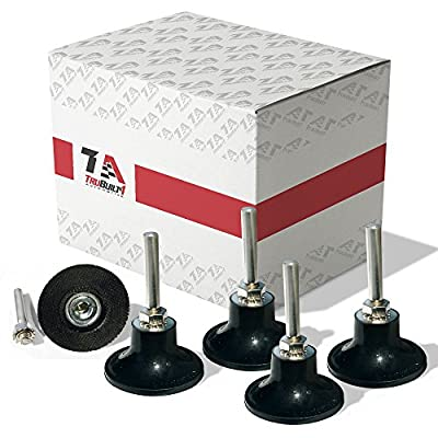 TruBuilt 1 Automotive T1A-ROLOC-2IN 2'' Roloc Disc Pad Holder - 1/4'' Shank