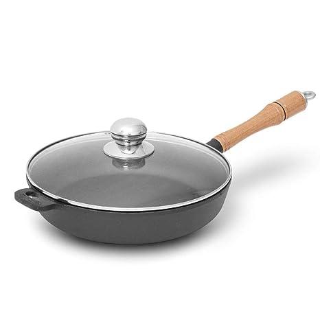 LULUDP Batería de Cocina Sartenes y ollas Wok Cacerola Sartén de ...