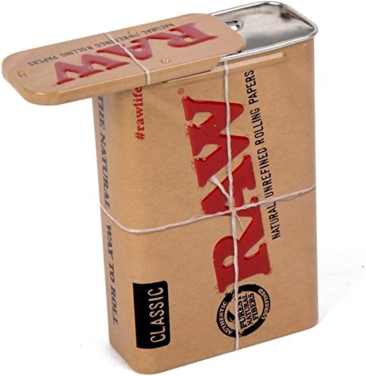 Compra Caja / Lata de conservación para Tabaco RAW (60x28x94mm) en ...