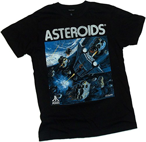 Asteroids Distressed Print -- Atari