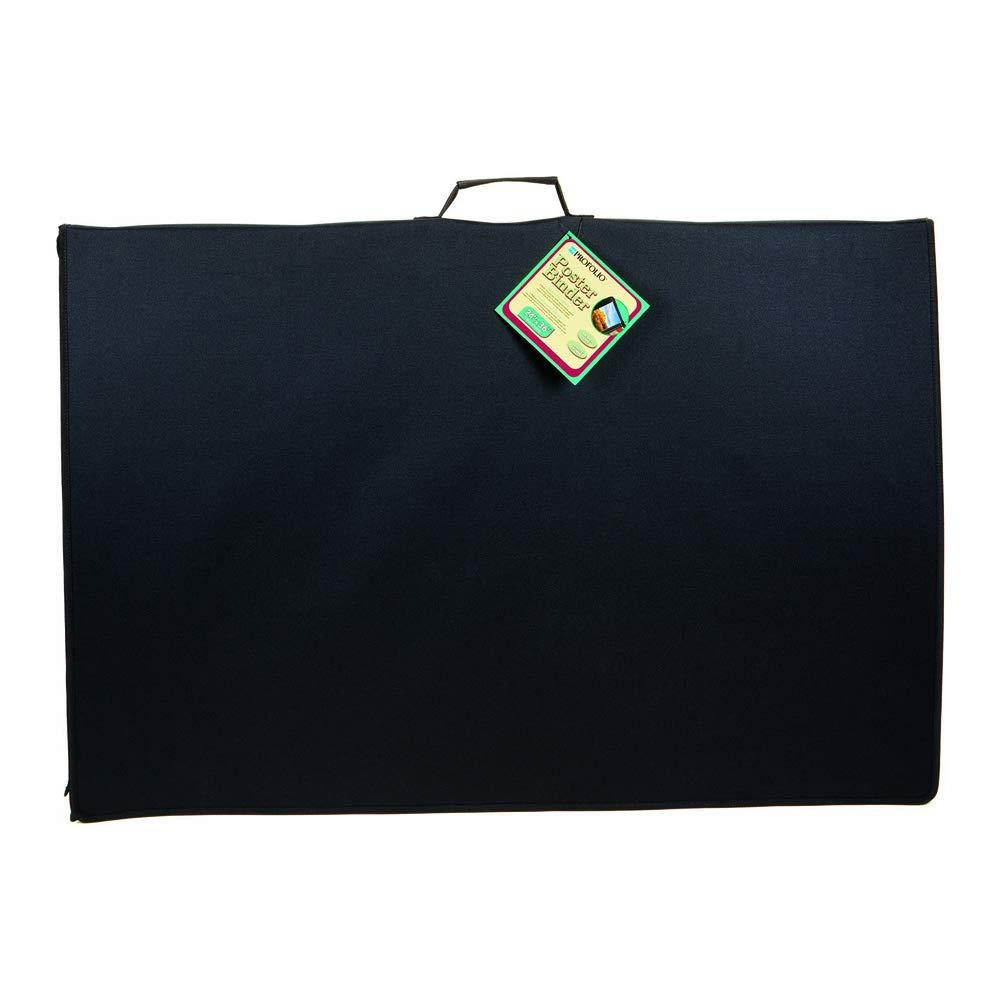 24 x 36 inches Black Poster Binder Itoya ProFolio PB-24-36