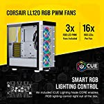 Corsair-iCUE-465X-RGB-Tempered-Glass-Mid-Tower-ATX-Smart-Case-Tempered-Glass-Side-Front-Panels-Three-LL120-RGB-Fans-Included-Expansive-Storage-Removable-Dust-Filters-White