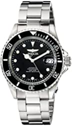 Invicta Men's 17044 Pro Diver Analog Display Japanese Automatic Silver Watch