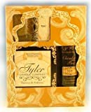 Tyler Fragrance - Tyler Gift Set - Room Spray (Chambre Parfum), Votive Candle, Glass Votive Holder, 11 oz Candle